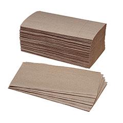 Single-Fold Paper Towel - 40% PCRM, 250per Bundle, 16/Box, NAVY Prime