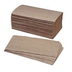 Single-Fold Paper Towel - 90% PCRM, 250per Bundle, 16/Box