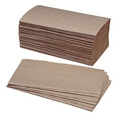 Single-Fold Paper Towel - 40% PCRM, 250per Bundle,9/Box