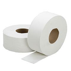"SKILCRAFT® Jumbo Roll Toilet Tissue - 1-Ply - 3.7"" x 2000' - 12/BX"
