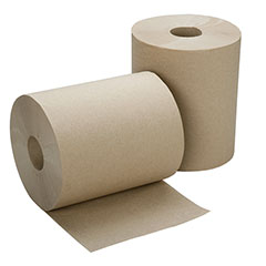 "SKILCRAFT® Hard Roll Paper Towel - 7-7/8"" x 600' - Natural"