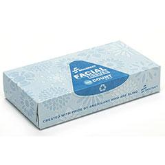 Facial Tissue - 100 Tissues per Dispenser Box