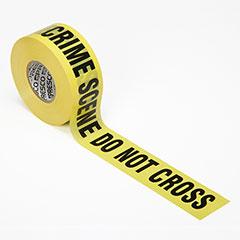 Barricade Tape - Crime Scene Do Not Cross - Premium Grade - 3mil thick - Yellow