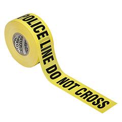 Barricade Tape - Police Line Do Not Cross - Premium Grade - 3mil thick - Yellow