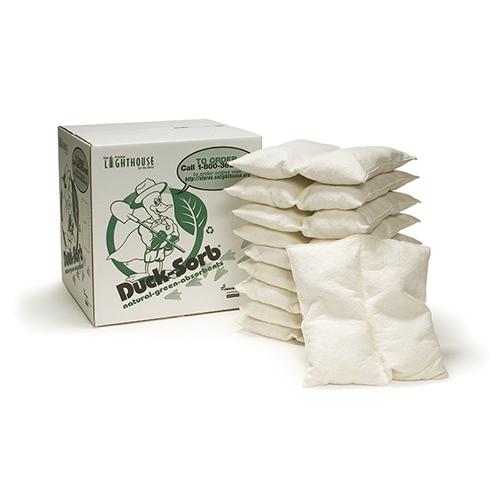 "Duck-Sorb® Cotton Pillow - 18"" x 18"""