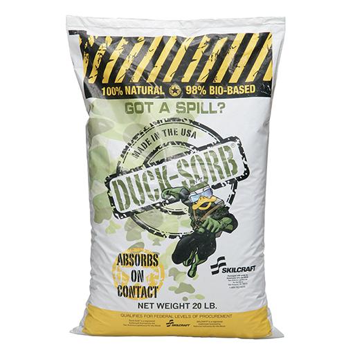 Duck-Sorb® Hazardous Material Absorbent - 20 lb Box