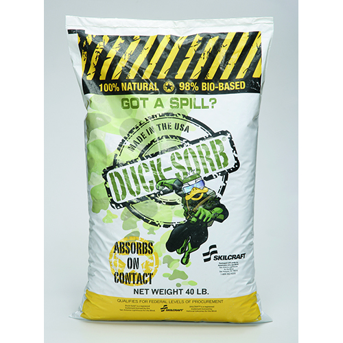 Duck-Sorb® Hazardous Material Absorbent - 40 lb Box