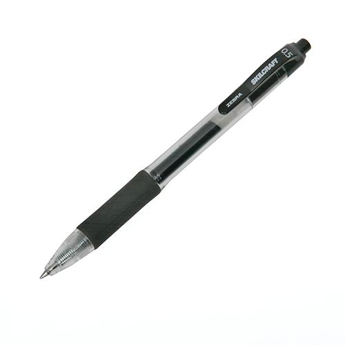 SKILCRAFT®/Zebra® Retractable Gel Pen - 0.5mm