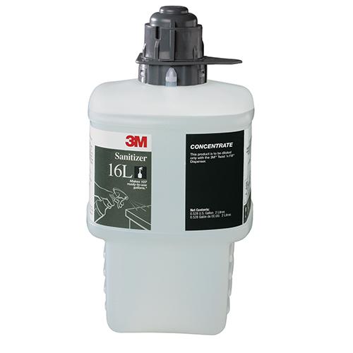 3M™ Twist 'N Fill – Sanitizer Cleaner #16L - 90 RTU Gallons per Bottle