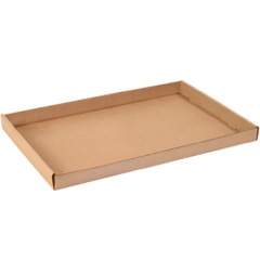 Kraft Corrugated Trays