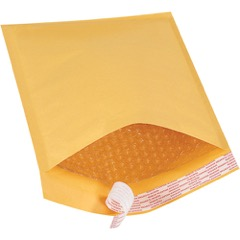 "8 1/2 x 12"" Kraft #2 Self-Seal Bubble Mailers"