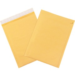 Kraft Self-Seal Bubble Mailers w/Tear Strip (25 Pack)
