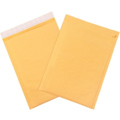 Kraft Self-Seal Bubble Mailers w/Tear Strip