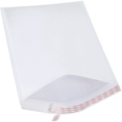 White Self-Seal Bubble Mailers (25 Pack)