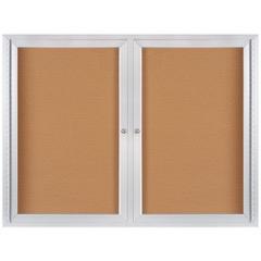 Enclosed Aluminum Frame Cork Boards