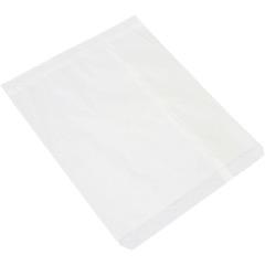 White Flat Merchandise Bags