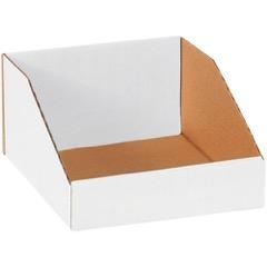 """White Bin Boxes - 9"""" Deep"""
