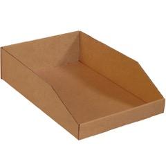 "Kraft Bin Boxes - 18"" Deep"