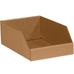 "Kraft Bin Boxes - 12"" Deep"