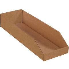 "Kraft Bin Boxes - 24"" Deep"