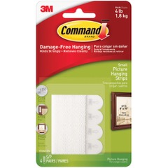 3M™ 17202 Command™ Picture Hanging Strips - Small