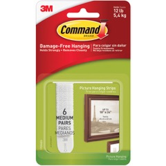 3M™ 17204 Command™ Picture Hanging Strips - Medium