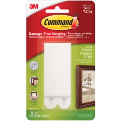 3M™ 17206 Command™ Picture Hanging Strips - Large