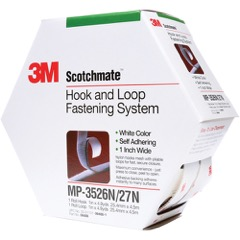 Scotchmate™ Hook and Loop Tape - Mini Pack Rubber Adhesive