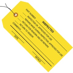 Inspection Tags - Pre-Wired