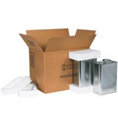 Haz Mat F-Style Can Foam Shipper Kits