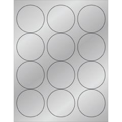 Foil Circle Laser Labels