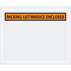 """Packing List/Invoice Enclosed"" Envelopes"