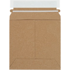 Kraft Self-Seal Flat Mailers