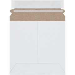 White Self-Seal Flat Mailers