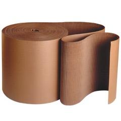 Kraft Singleface Corrugated - B Flute