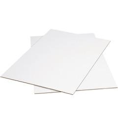 White Corrugated Sheets