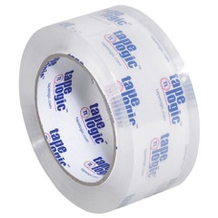 Tape Logic® - 3.1 Mil Crystal Clear Tape