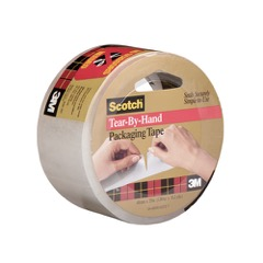 "2"" x 38 yds. Clear 3M™ 3842 Carton Sealing Tape"