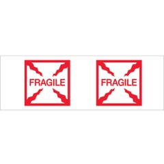 Tape Logic® Pre-Printed - Fragile (Box)