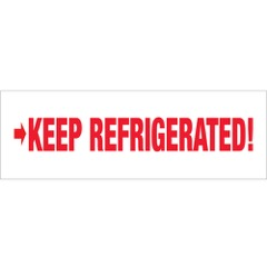 Tape Logic® Pre-Printed - Keep Refrigerated