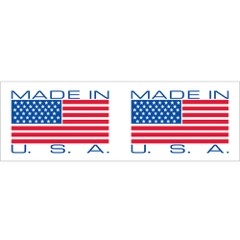 Tape Logic® Pre-Printed - Made in USA