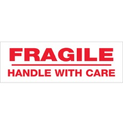 Tape Logic® Pre-Printed - Fragile Handle with Care