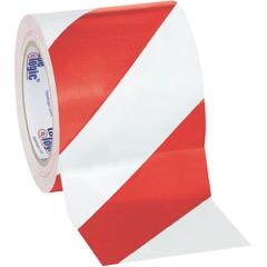 Tape Logic® Striped Vinyl Tape