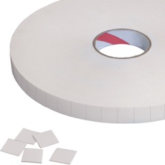 Tape Logic® Pre-Cut Double-Sided Foam Squares