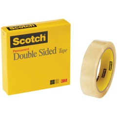 Scotch® 665 Double Sided Tape (Permanent)