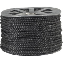 Black Twisted Polypropylene Rope