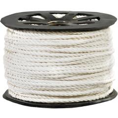 White Twisted Polypropylene Rope