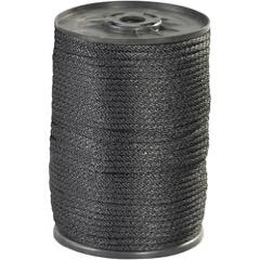 Black Braided Nylon Rope