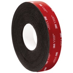 "1"" x 5 yds. Black 3M™ 5962 VHB™ Tape"