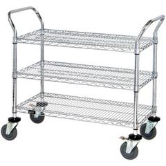 Heavy-Duty Wire Carts